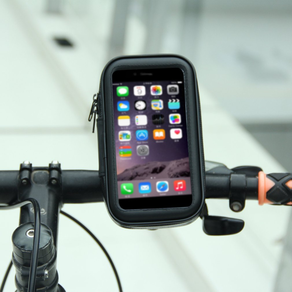 Waterproof Bicycle Bag <font><b>Bike</b></font> Case Bicycle Mount <font><b>Holder</b></font> Case Handlebar <font><b>Holder</b></font> Bicycle Cover for Mobile <font><b>Phone</b></font> <font><b>Bike</b></font> Accessories image
