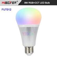 Miboxer fut012 e27 9 Вт rgb + cct Светодиодная лампа освещения