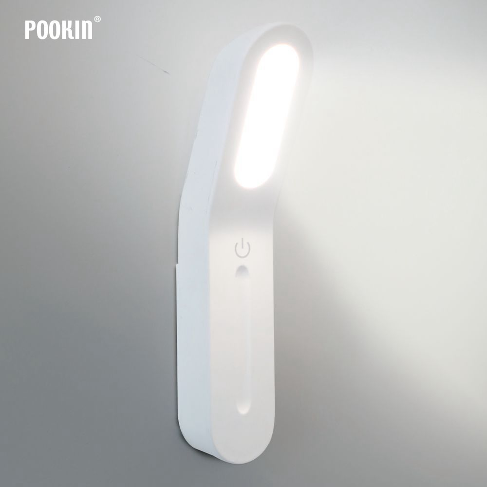 LED Multi-Function Portable Lighting Lantern USB Rechargeable LED Touch Dimming Camp Light Magnetic Hanging LED Cabinet Light(China)