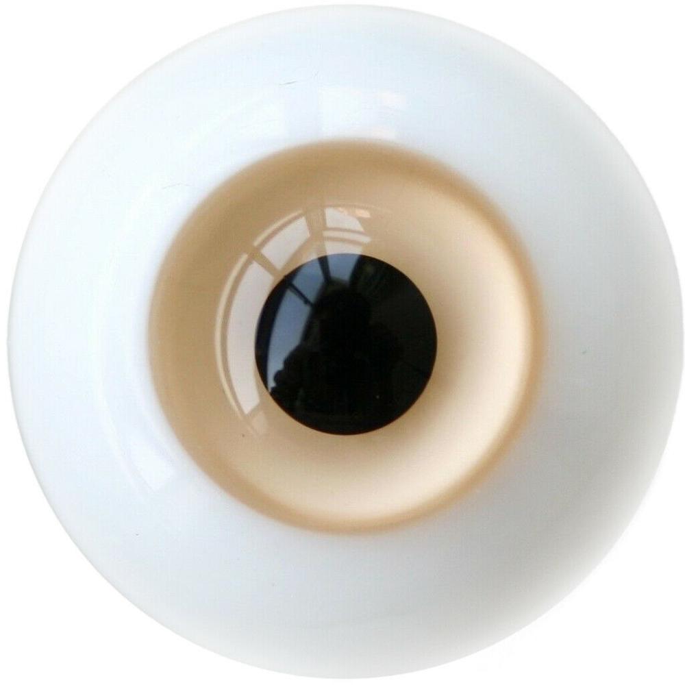 [wamami] 6mm 8mm 10mm 12mm 14mm 16mm 18mm 20mm 22mm 24mm Orange Glass Eyes Eyeball BJD Doll Dollfie Reborn Making Crafts