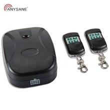 купить Universal garage door remote control wireless gate remote curtain wireless smart remote controller 1 rf receiver with 2 emitters онлайн