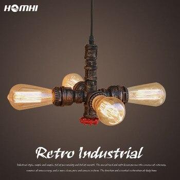 Lámpara colgante dorada de metal, iluminación de techo moderna, vintage, minivestíbulo, libreria,...