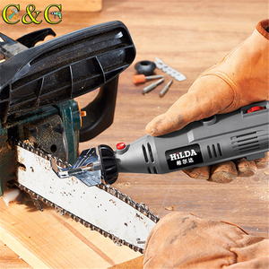 HILDA Chain Saw Sharpening Attachment Sharpener Guide Drill Adapter for Dremel drill Rotary accessories