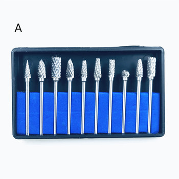 цена на 1set Dental Lab Drills Tungsten Steel Carbide Burs Teeth Whitenning Tooth Polishing Drill