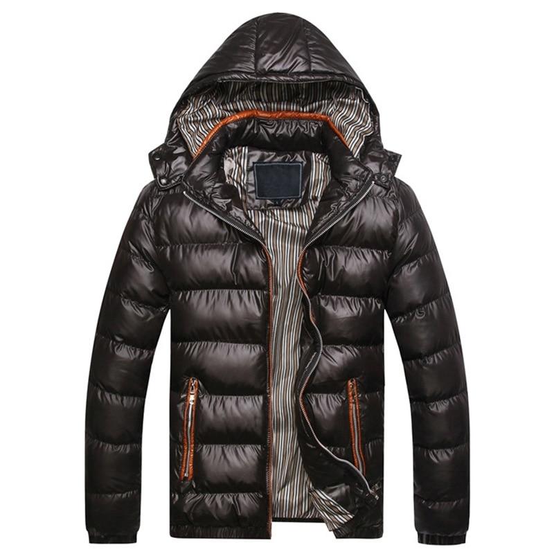 winter coat jacket men warm padded jacket men hooded jacket   parka   men Cap removable 7XL 8XL TJWLKJ