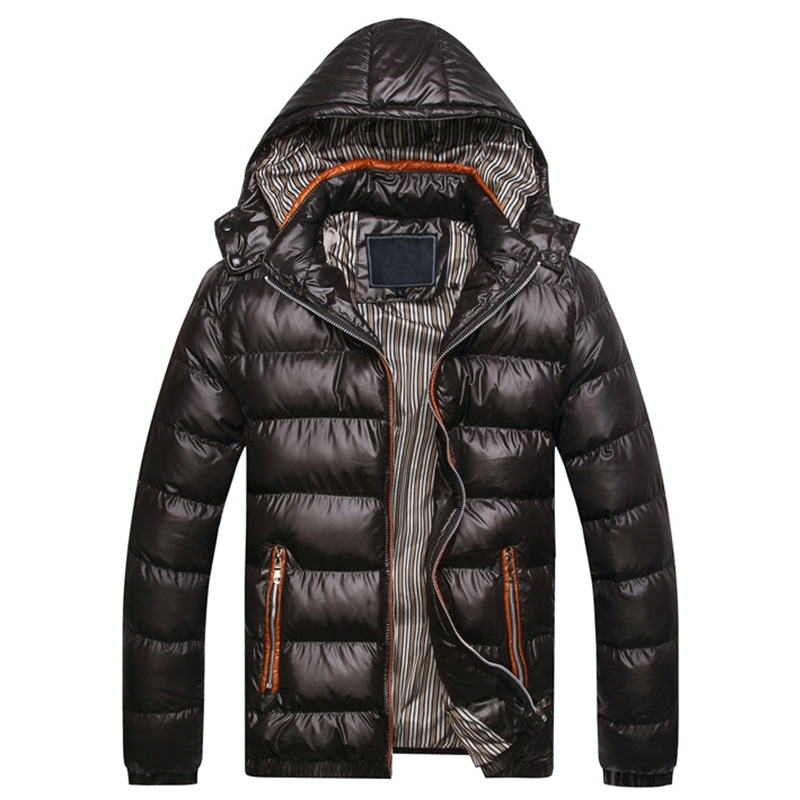 Winter Jacket Men Fashion Warm Jacket Men Hooded Jacket Parka Men Cap Removable 7XL TJWLKJ