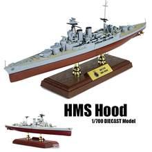 Wwii british hms capa 1/700 diecast modelo navio fov