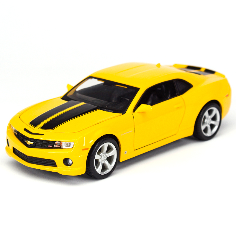 Maisto 1:24 2010 <font><b>Chevrolet</b></font> Camaro Sports Car Static Simulation Diecast Alloy Model Car image