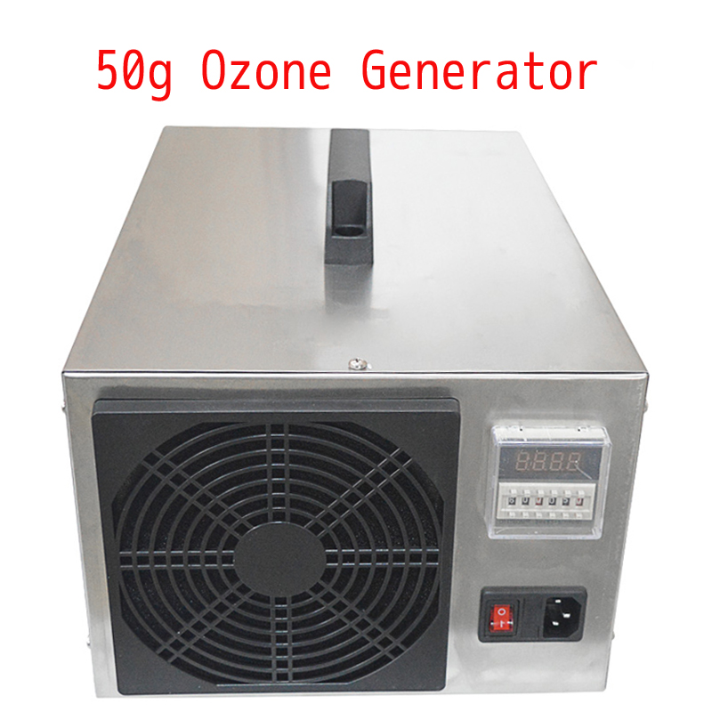50g Ozone Generator Air Sterilizer Air Purifier Food Sterilization Farm Environmental Treatment Pigsty Ammonia Removal