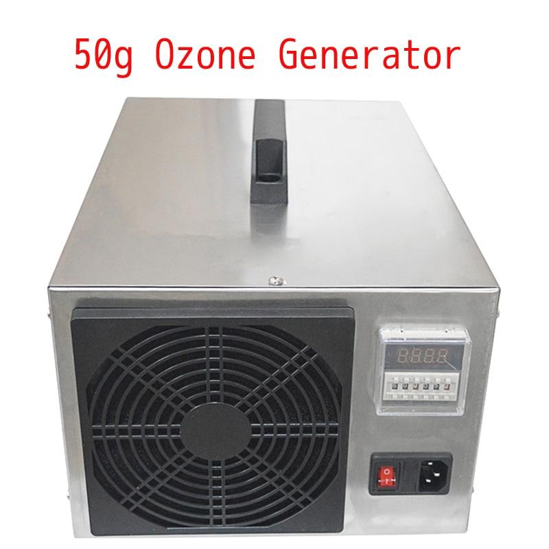 50g Ozone Generator Air Sterilizer Air Purifier Food Sterilization Farm Environmental Treatment Pigsty Ammonia Removal