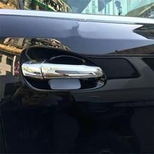 WELKINRY auto abdeckung für Mercedes Benz GL GLS X166 2012 2013 2014 2015 2016 2017 2018 2019 ABS chrom türgriff türgriff trim