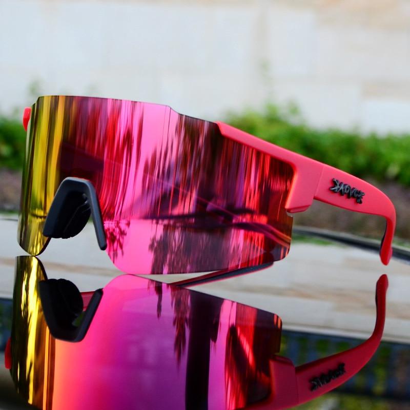 Cycling glasses Men&Women road bike sunglasses 2019 sport riding running eyewear UV400 goggles bicycle mtb fietsbril for Running 16