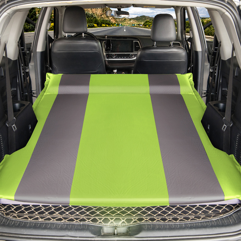 Car Mattress SUV inflatable sofa Air Inflatable Travel Mattress Universal for Back Seat Multi functional Sofa Pillow Outdoor Cam