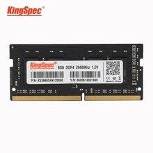 KingSpec Sodimm ram ddr4 8gb ram ddr4 dizüstü 4GB 8GB 2666mhz 1.2V ram DDR4 için laptop Memoria RAM dell 7577,ASUS Vivobook