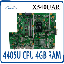 Laptop X540UV Mainboard Asus REV for X540ub/X540ubr/X540ua/.. W/4405u CPU 4GB-RAM Akemy