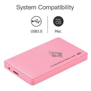 Pink 2TB 1TB 500GB 2.5 inch US