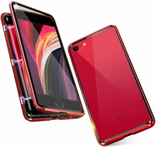 Coque Magnetique Double Face For IPHONE SE 2020/6 7 8 11 Pro X XR MAX Etui Verre