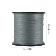 Braided Fishing Line Multifilament Wire Woven Thread 4 Strand 300M Premium PE