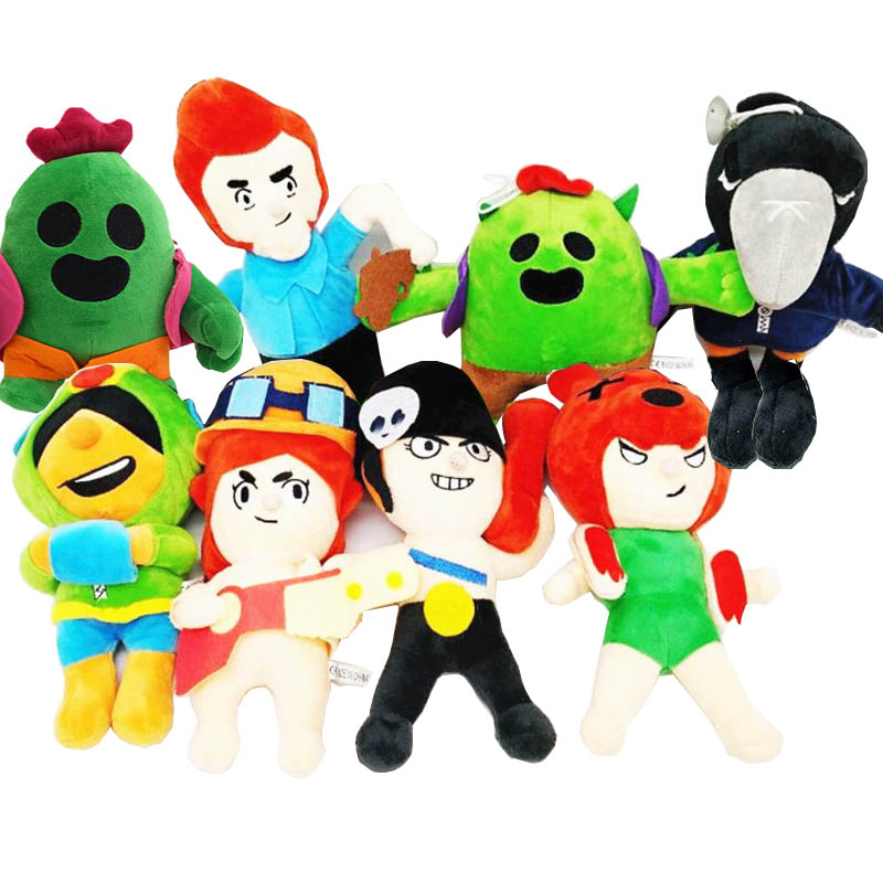 8 Styles 23 CM Leon Spike Colt Game Plush Toy Play Stuffed Doll Anime Game Toy Cartoon Birthday Christmas Gift For Kids