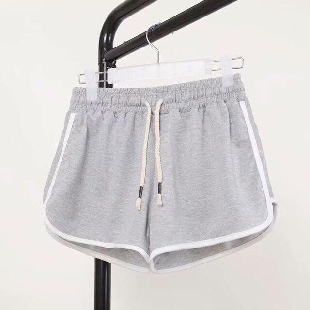 DICLOUD Fashion Summer Casual Shorts Woman 2019 Stretch High Waist Booty Shorts Female Black White Loose Beach Sexy Short S-XXL 4