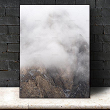 Snow mountain scenery canvas decoration for living room Wall Picture home decor Landscape Canvas painting Wall art poster print canvas painting primeval forest landscape wall artposter and print modern home decoration wall picture living room office decor
