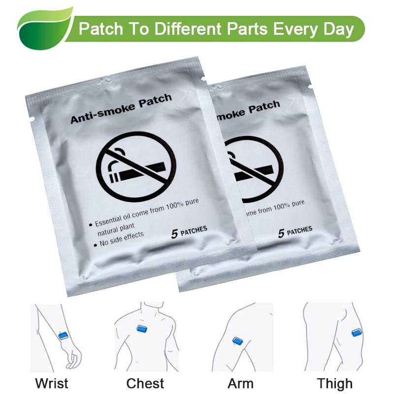 30pcs 100% Natural Ingredient Anti Smoke Patch Stop Quit Smoking Cessation Chinese Herbal Medical Plaster Health Care D2051 2