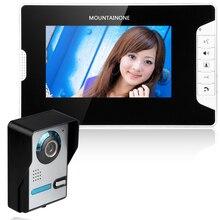 Система видеодомофона, комплект проводной системы видеодомофона, непромокаемая панель вызова, инфракрасная камера для дома, вилла, здание, ...