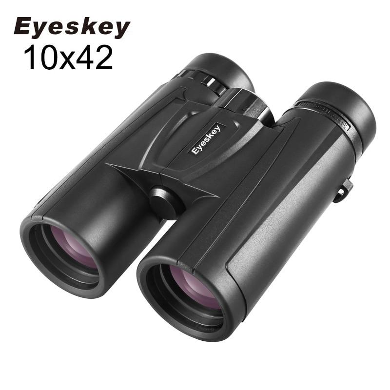 Eyeskey 10x42 HD Binoculars New Professional Compact Telescope Powerful Bak4 Night Vision Hunting Scope|Monocular/Binoculars| |  -