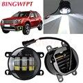2 шт./пара светодиодный Противотуманные фары для Renault Duster для Dacia Duster Logan Sandero 2004-2015 для Renault Megane 2 седан LM 2003 ~ 2015
