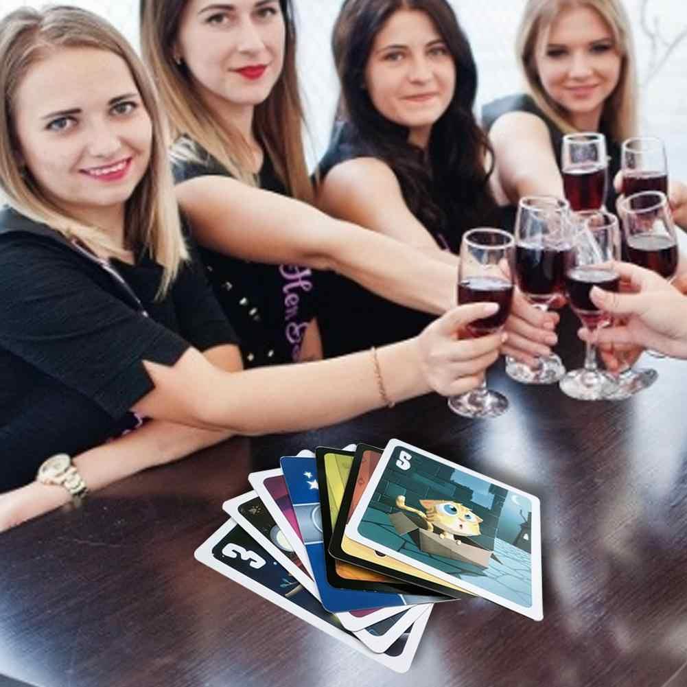 Stray Cats Engels Versie Tarot Kaarten Grappig Familie Board Game Card Playing Game Kaarten Party Games