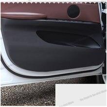 Коврик lsrtw2017 из волоконной кожи для автомобильной двери