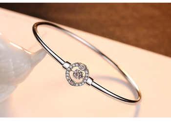 Braccialetto di modo zircone femminile boutique selvaggio braccialetto
