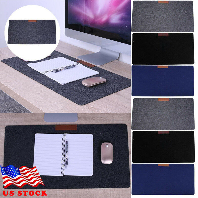 Large Size Solid Mouse Pad Extended Anti-slip Gaming Mousepad Desk Mat For 700mm*300mm