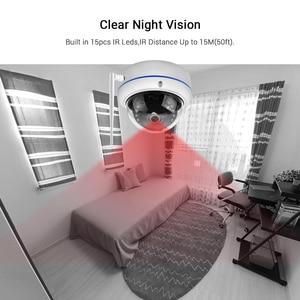 Image 4 - HD1080P Wifi kamera iCSee ONVIF kablolu kablosuz IP kamera Vandal geçirmez su geçirmez açık kamera ses kayıt RTSP Xmeye bulut