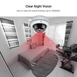 Image 4 - ICSee caméra de surveillance extérieure IP Wifi/filaire Cloud hd 1080p, anti vandalisme, étanche, avec enregistrement Audio, protocole RTSP et ONVIF, protocole Xmeye