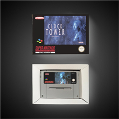 Clock Tower - EUR Version Action Game Card With Retail Box
