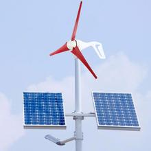 цена на 100W Wind Generator Power Wind mill 3-Blade Nylon Fiber Wind-Mill Generator NE-100S3
