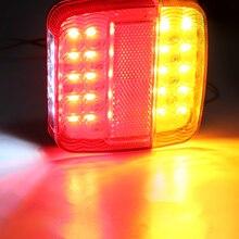 Указатель поворота, задний фонарь с 26 светодиодами, 1 пара