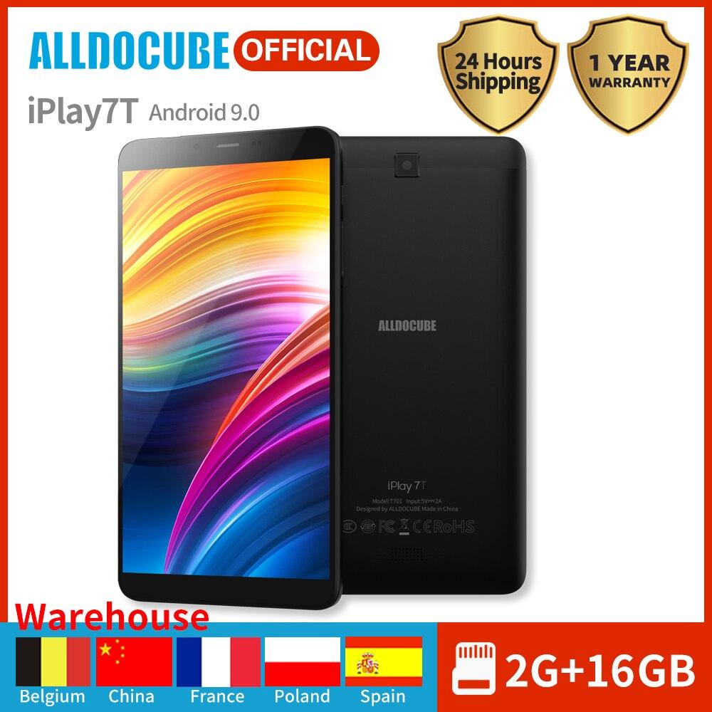 Alldocube Android 9.0 4G Phone Call Tablet IPlay 7T 7 Inch IPS Screen 2GB RAM 16GB ROM 2800mAh Dual Camera GPS Wifi