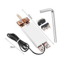 Ręczny DIY zintegrowany typ zgrzewanie punktowe pióro automatyczne wyzwalacz spawarka do 18650 baterii maszyna do zgrzewania punktowego akcesoria
