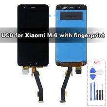 ЖК дисплей и сенсорный экран Премиум качества для xiaomi mi6