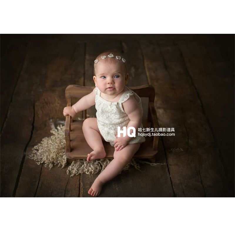 Newborn Photography Props Bed Baby Photography Basket Infant Wooden Photo Studio  Accessories  Chlidren Basket