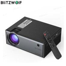 Blitzwolf BW VP1 projecteur LCD 2800 Lumens soutien 1080P entrée plusieurs Ports Portable Home cinéma intelligent avec télécommande
