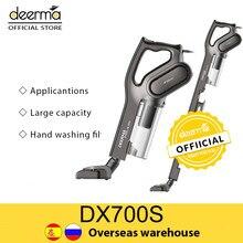 Deerma Handheld Vacuum Cleaner DX700S DX700S Household Strength Dust Collector Home Aspirator 2-In-1 Deerma Official Store