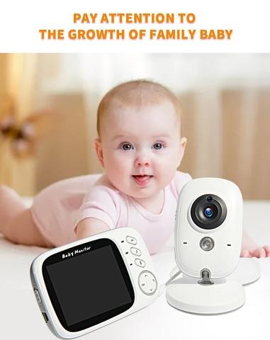 video em cores sem fio baby monitor