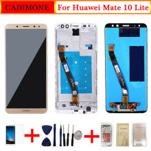 For Huawei Mate 10 Lite LCD Display Screen With Frame Touch Screen Replacement For Mate 10 Lite LCD Screen 2560*1440 Resolution