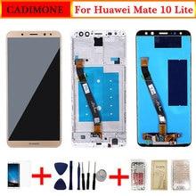 עבור Huawei Mate 10 Lite LCD תצוגת מסך עם מסגרת מגע החלפת מסך עבור Mate 10 Lite LCD מסך 2560*1440 רזולוציה