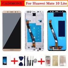 Para Huawei Mate 10 Lite pantalla LCD con marco pantalla táctil reemplazo para Mate 10 Lite pantalla LCD 2560*1440 resolución