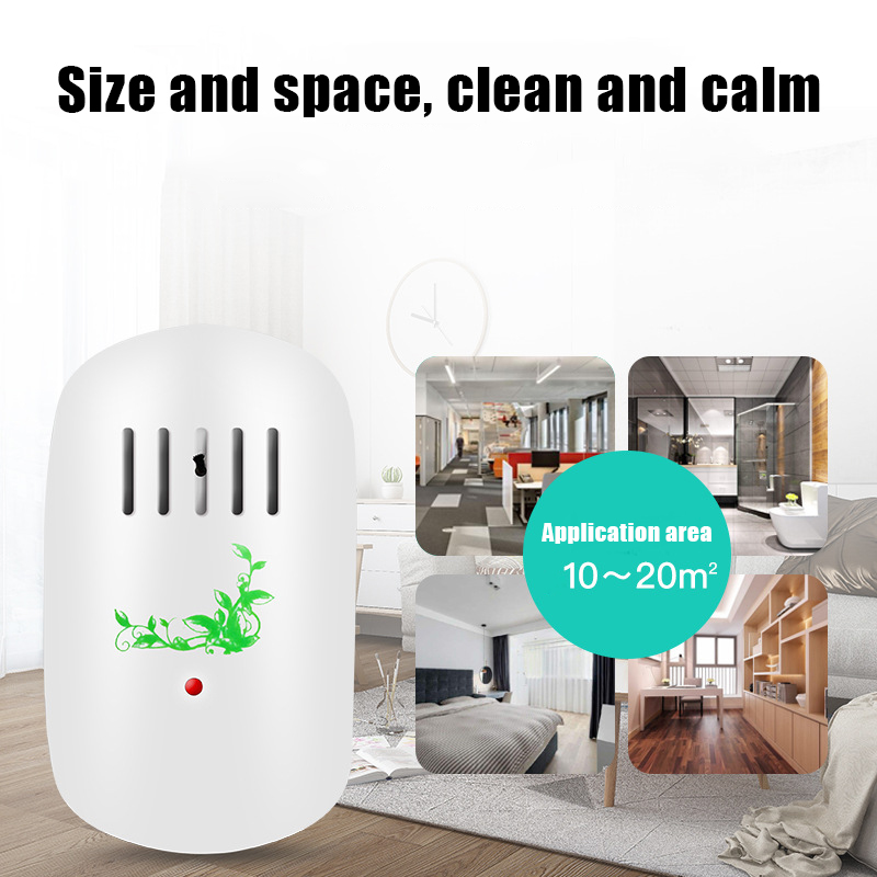 2019 New product Mini <font><b>Air</b></font> Purifier <font><b>Freshener</b></font> Cleaner <font><b>Plug</b></font>-<font><b>in</b></font> Odor <font><b>Air</b></font> Smoke Filter for Home Room J8 #3 image