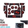 Противоскользящий резиновый коврик для двери KIA Forte  2019  2020  BD Cerato  K3  Vivaro  2019  2020